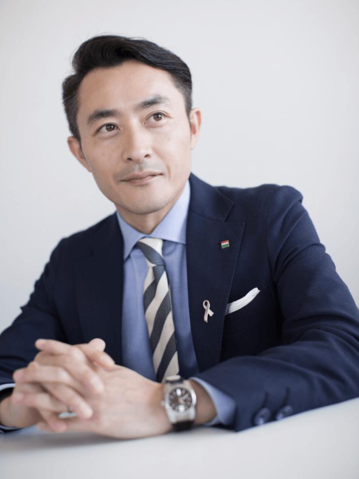 4代目 代表取締役社長 峯岸宏典
